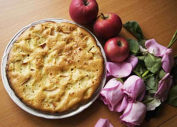 Apfelkuchen - zu jeder Jahreszeit beliebt