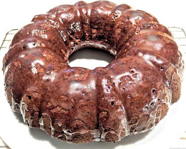 Der Schokoladen Gugelhupf - überall beliebt
